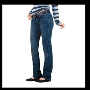LEVI'S 504 TILTED❤Slouch Straight Low Rise Jeans 9